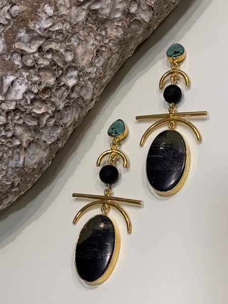 Oriental Minimal Earrings