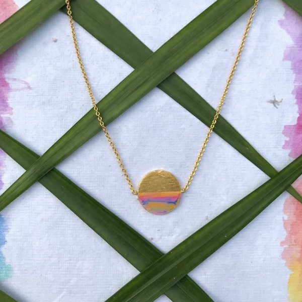 Phase Necklace-Half Moon
