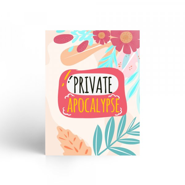 Private Apocalypse Notebook