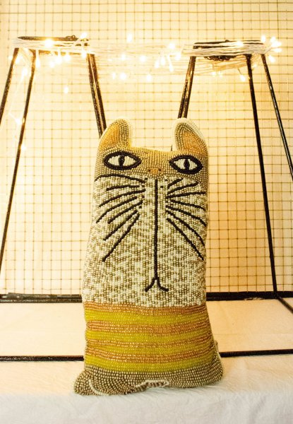 Quirky TW Cat Cushion