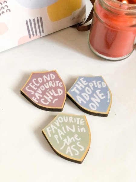 Sibling Magnets of Honour | Set of Three