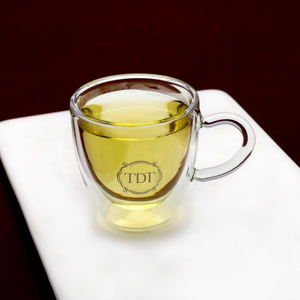 Optical Infusion Tea Cup