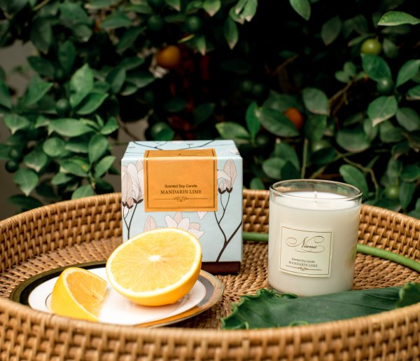 Soy Candle - Mandarin Lime