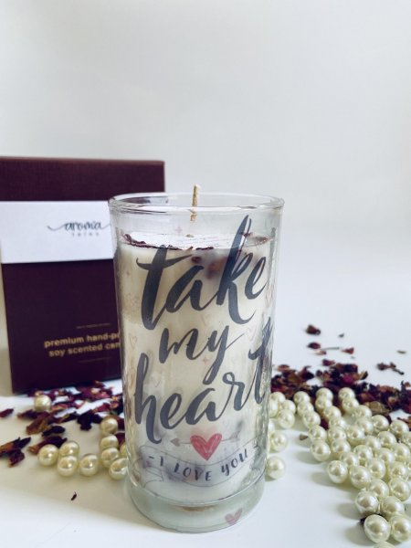 Take My Heart Candle