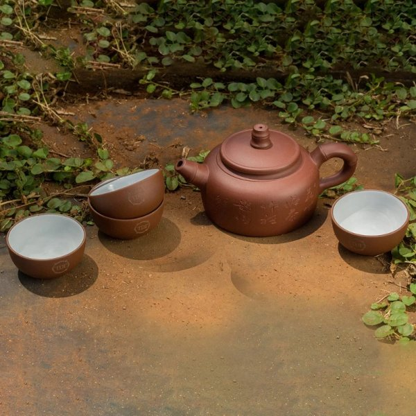 Earth Pot Tea Set