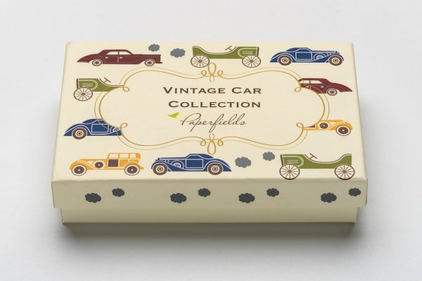 Vintage Car Stationery Set