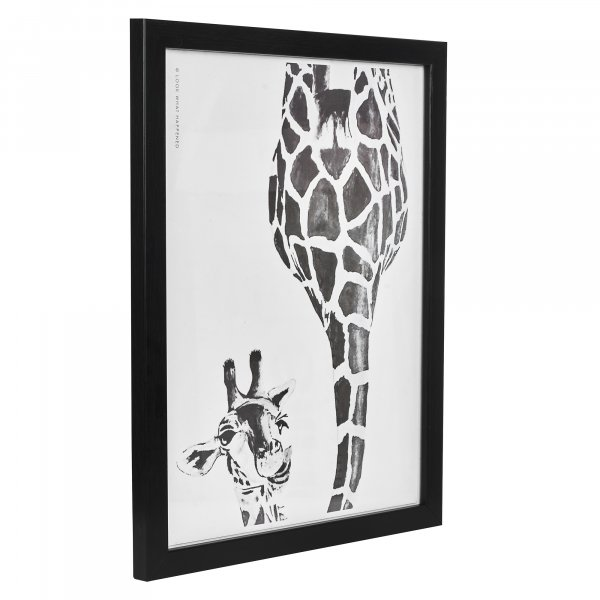 Peeking Giraffe Painting