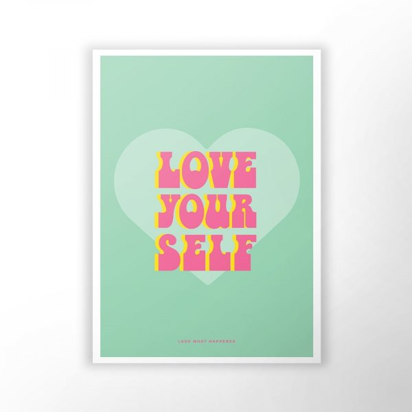 Love Yourself - Wall Art