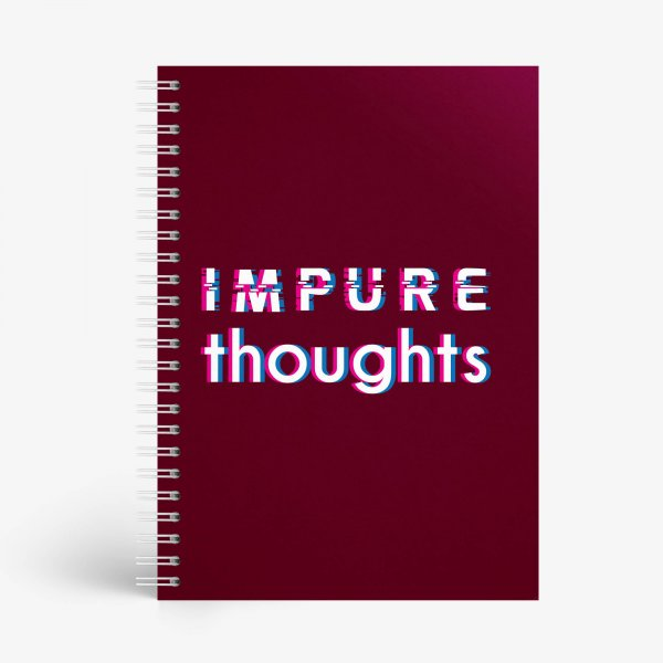 Impure Thoughts Notebook