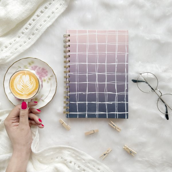 Ombra Plaids Notebook