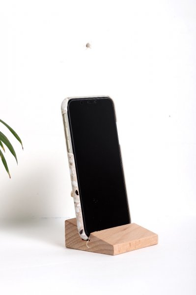 Woodden Phone Stand